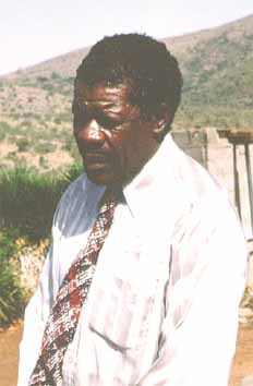 Lucas SITHOLE at his home in Pongola 1992