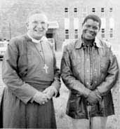 Bishop Frederick Amoore and Lucas SITHOLE, 1979